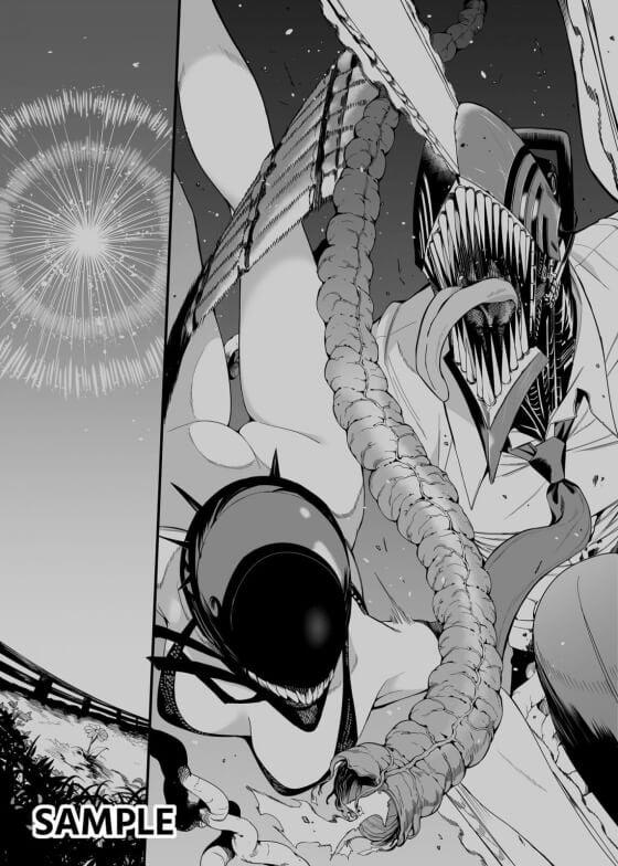 【チェンソーマン・エロ漫画】 マキマさんのデンジ童貞筆おろし!! 色々と凶悪なデンジチンポを優しく包み込んで搾精してくれるマキマさん…(サンプル18枚)
