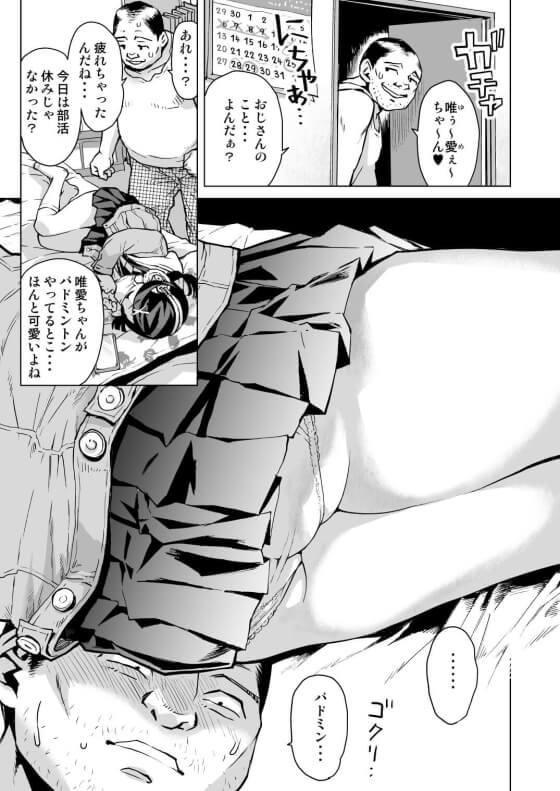 【エロ漫画】 キモ叔父さんに睡眠レイプされちゃう姪っ子!! 明晰夢アプリで深い睡眠状態なのをいいことに執拗にエロいイタズラされちゃう…(サンプル12枚)