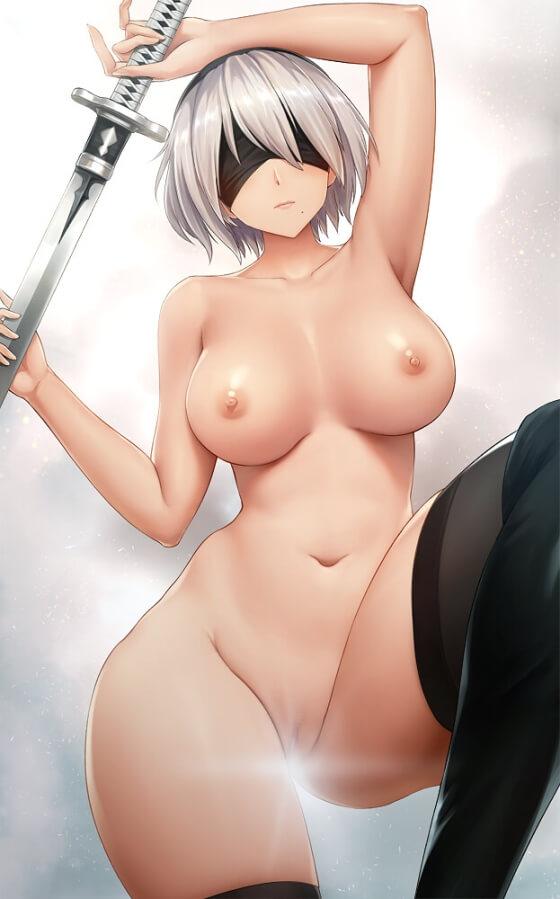 【エロ画像】 美少女ヒロイン達のエッッッロい裸体!! 羞恥で感じちゃってる二次エロ画像www part60