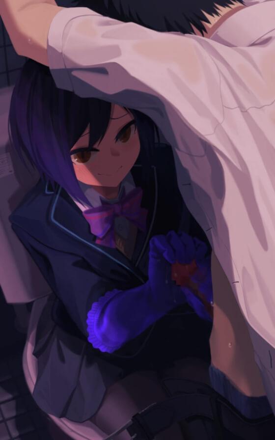 【エロ画像】 美少女ヒロイン達にドS責め!! オチンポいじくり回されてるドMホイホイ画像wwwpart62