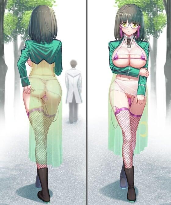 【エロ画像】 露出エロ!! 身体を晒して感じちゃってる美少女ヒロイン達のエロ画像wwwpart49