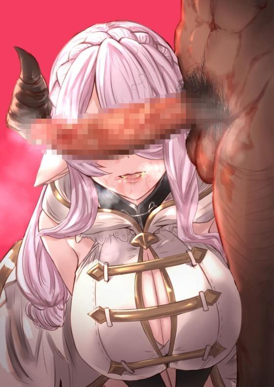 【エロ画像】 勃起チンポを押し付けられて発情しちゃってる美少女ヒロイン達の二次エロ画像www part108