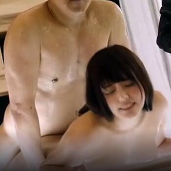 【エロ漫画】 義父に孕ませックスされちゃうJK!! 中年のこってりとした特濃精子でじっくり種付けされるwww(サンプル19枚)