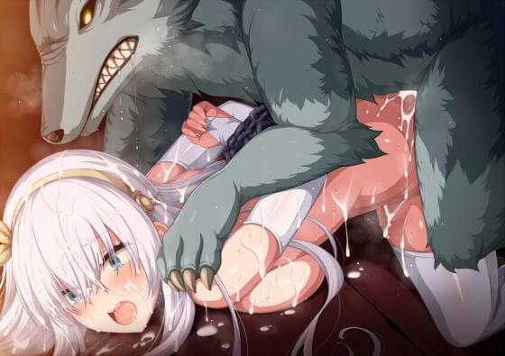 【エロ画像】 美少女ヒロイン達を無理やりレイプしまくってる二次エロ画像www part122