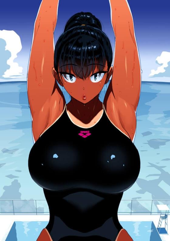 【エロ画像】 腋レイプ!! 美少女ヒロイン達のエロい腋を汚したくなる二次エロ画像www part35