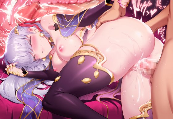 【エロ画像】 美少女ヒロイン達に中出しセックス!! 膣内にドピュドピュされまくってる二次エロ画像www part90