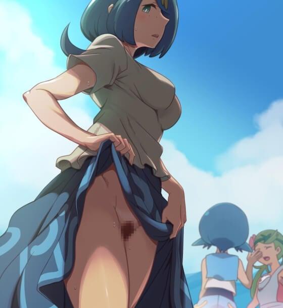 【エロ画像】 美少女ヒロイン達が露出エロでドキドキ発情しちゃってる二次エロ画像wwwpart56