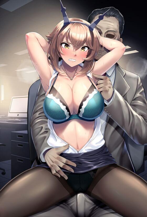 【エロ画像】 強気な美少女ヒロイン達を快楽で屈服させちゃう二次エロ画像www part120
