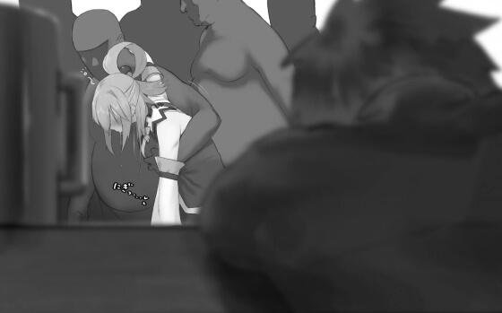 【エロ画像】 美少女ヒロインレイプ!! ゲス男達に抵抗できずに犯されまくってる二次エロ画像www part128