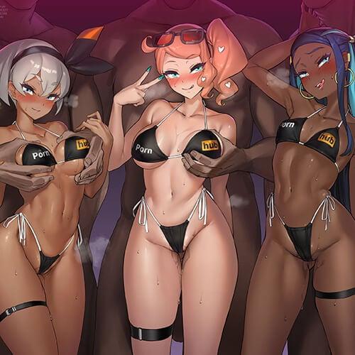 【エロ画像】 乱交セックス!! 美少女ヒロイン達が寄って集ってセックスしまくってる二次エロ画像www part41