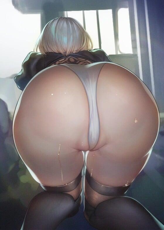 【エロ画像】 美少女ヒロイン達をアナル責め!! お尻を犯しまくってる二次エロ画像www part107