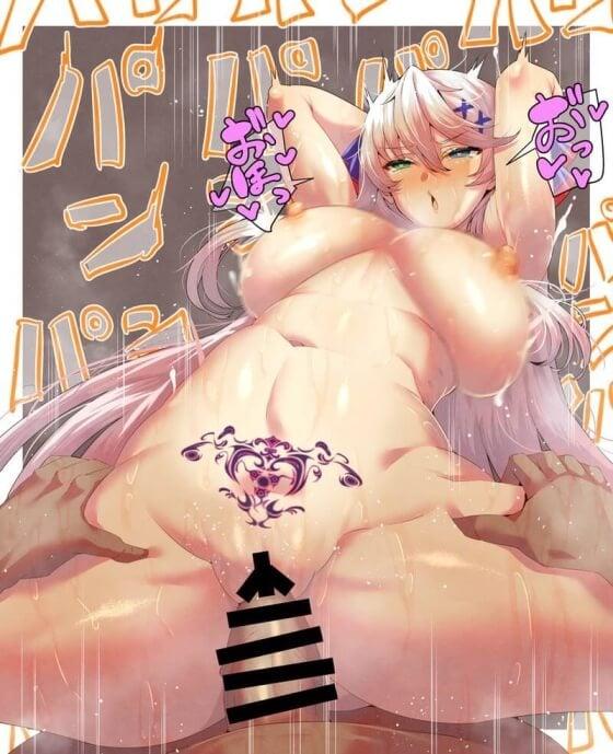 【エロ画像】 アヘ顔絶頂!! 美少女ヒロインがオチンポで無様にイキまくってる二次エロ画像www part100