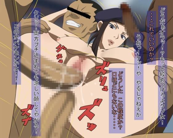 【エロ画像】 輪姦レイプ!! 美少女ヒロイン達が集団で犯されまくってる二次エロ画像www part101