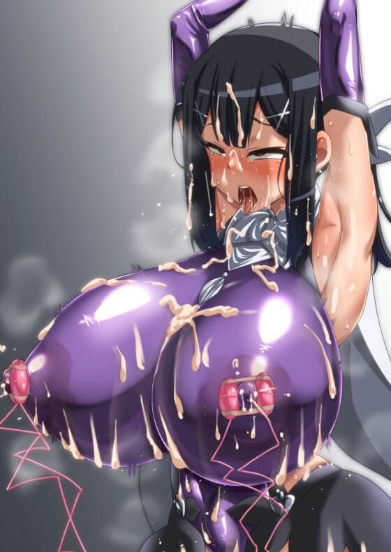 【エロ画像】 オッパイ陵辱!! 胸を責められまくってビクンビクンさせられちゃってる美少女ヒロイン達の二次エロ画像www part113
